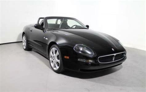 Maserati Spyder Ebay