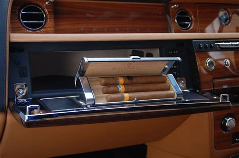 roll royce cuba rolls royce glove box cigar holder the ultimate accessory