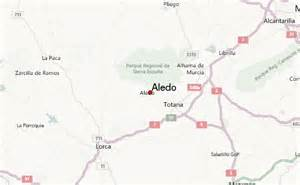 aledo map aledo spain weather forecast