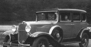 Chevrolet Founders History Of Cars Chevrolet International Six History Of Cars