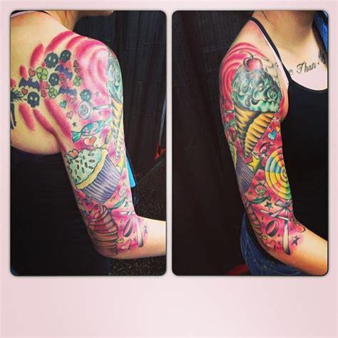 colorful sleeve tattoos colourful sleeve best design ideas