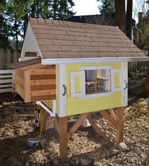 Cool Cabin Plans by How To Build A Chicken Coop For Less Than 50 Live Simply