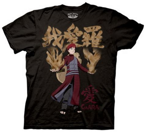 Tshirt Anime Gaara Of The Sand t shirt s and s t shirts 187 archive for january