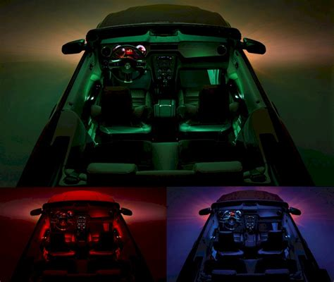 ford mustang ambient interior lighting