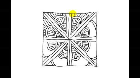 zentangle pattern drupe zentangle patterns tangle patterns drupe youtube