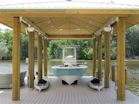 boat lift deck boat lifts custom elevator boathouse options deco