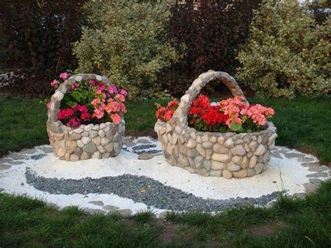 Pebble Rock Garden Designs Garden Design Ideas With Pebbles