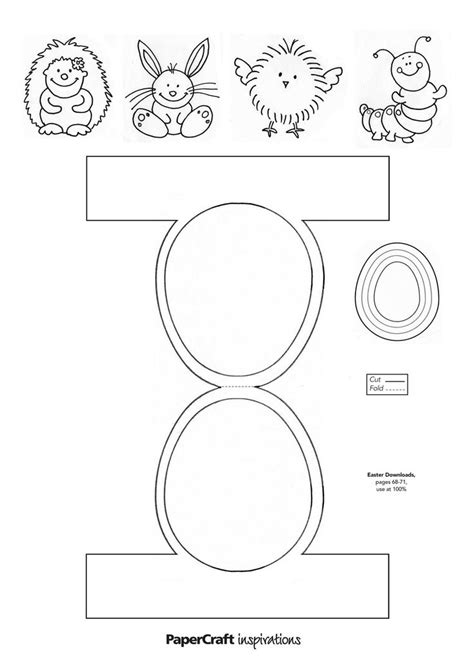 paper crafts templates download your easter decorations