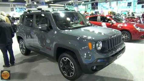jeep trailhawk 2015 interior 2016 jeep renegade trailhawk exterior and interior