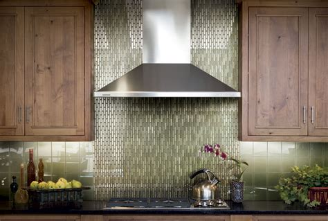 glass tiles backsplash kitchen green glass tiles for kitchen backsplashes kitchentoday