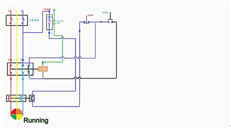 wiring diagram of dol starter wiring diagram