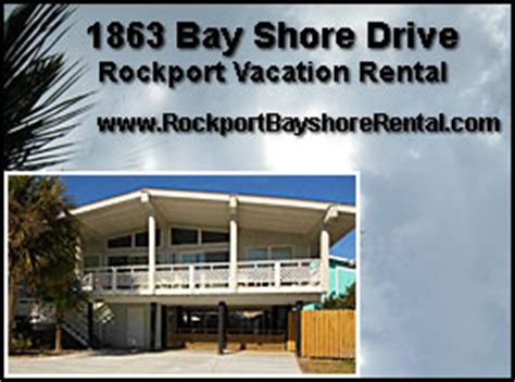 houses for rent rockport tx texas coastal bend vacation information rockport tx condos cottages homes for rent