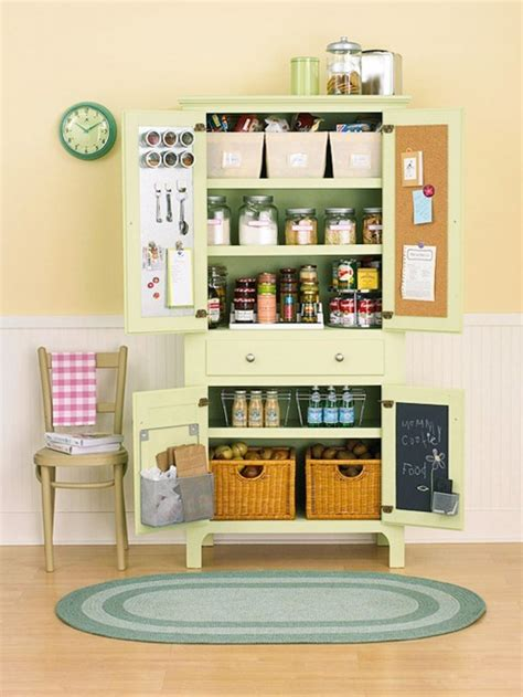 kitchen storage for small spaces bhg centsational style