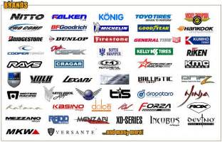 Truck Wheel Brand Names Car Brands Logo Studio Design Gallery Best Design