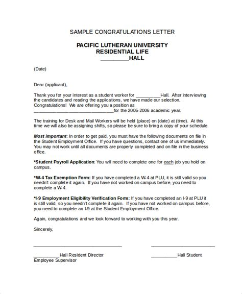 Formal Wedding Congratulations Letter congratulations letter template 12 free word document