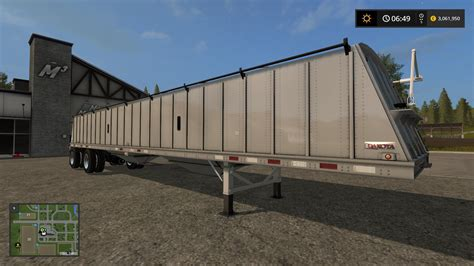 Or 2017 Trailer Dakota 48ft Spread Axle Trailer V1 0 Fs17 Fs 2017 Farming Simulator 2017 Mod Fs 17 Mod