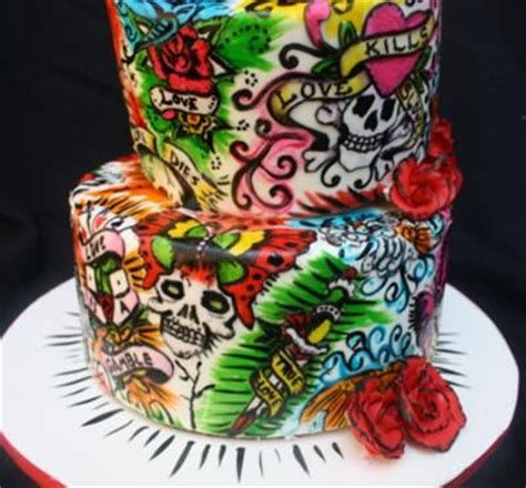 tattoo cake awesome cake cake awesome tattoos