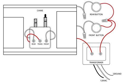 doorbell wiring diagrams diy house  doorbell home