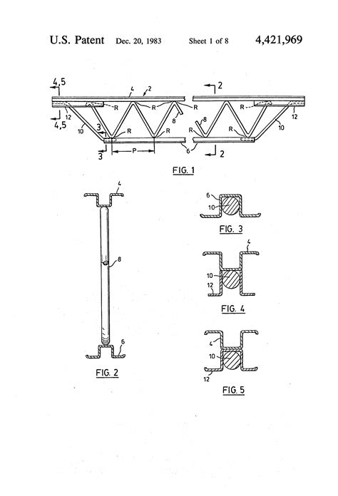 joist section patent us4421969 method for fabricating open web steel