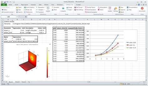 excel comfort systems utilize excel 174 in your comsol multiphysics 174 models
