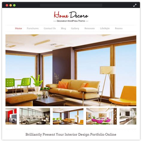 home decor themes 10 best interior designing remodeling wordpress themes