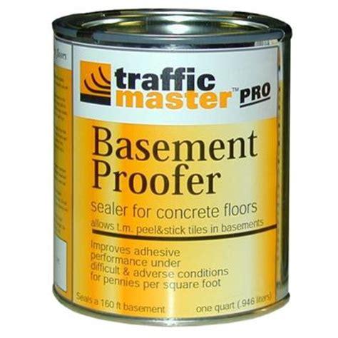 trafficmaster 1 qt basement proofer for concrete floors