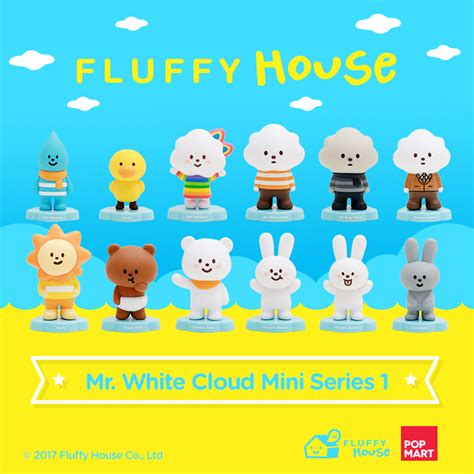 I Am Ok Figure Set By Fluffy House And Bubi Au Yeung fluffy house s mr white cloud mini series 1 releases aug 19th