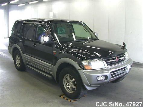 how to learn about cars 2001 mitsubishi pajero windshield wipe control 2001 mitsubishi pajero black for sale stock no 47927 japanese used cars exporter