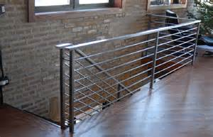 Ss Handrails Brushed Steel Railing Downtown Chicago Smw