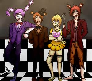 Five nights at freddy s human version by marcyrm on deviantart