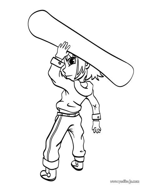 imagenes invierno colorear dibujos para colorear surf de invierno es hellokids com