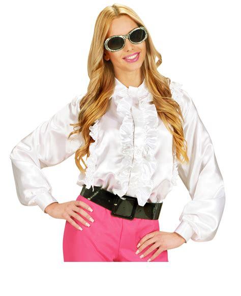 camicia con volant per donna costumi adulti e