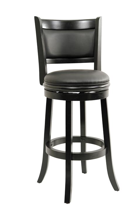 black leather bar stools counter height solid wood stool bar height bar stool swivel stool kitchen