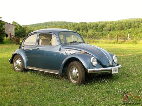 volkswagen coupe classic blue classic 1968 volkswagen beetle coupe