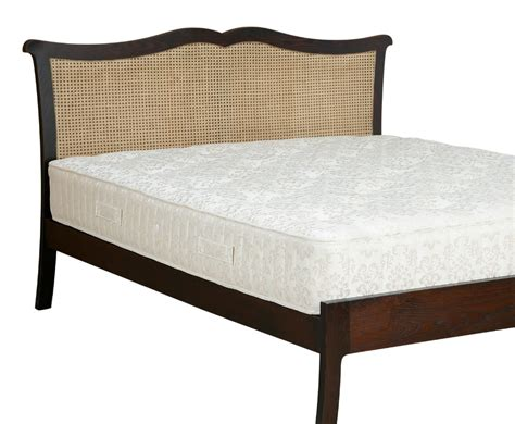 cane bed frame chopin 4ft bespoke cane wooden bed