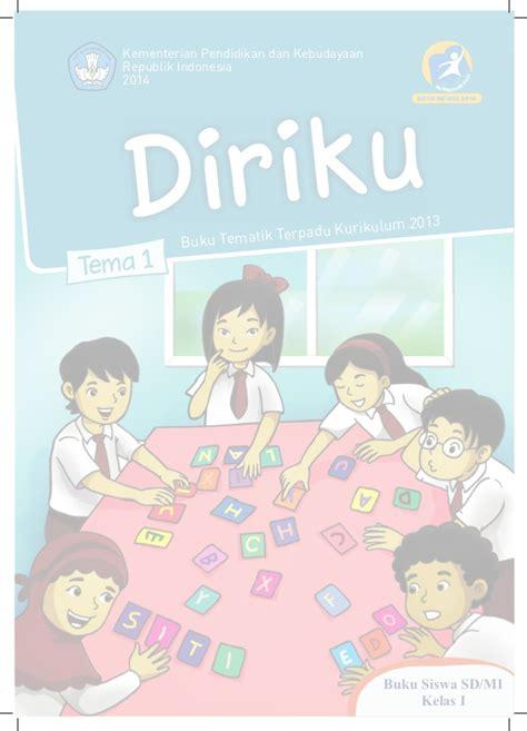 Tematik Terpadu Tema Diriku Jl1a2013 buku tematik kurikulum 2013