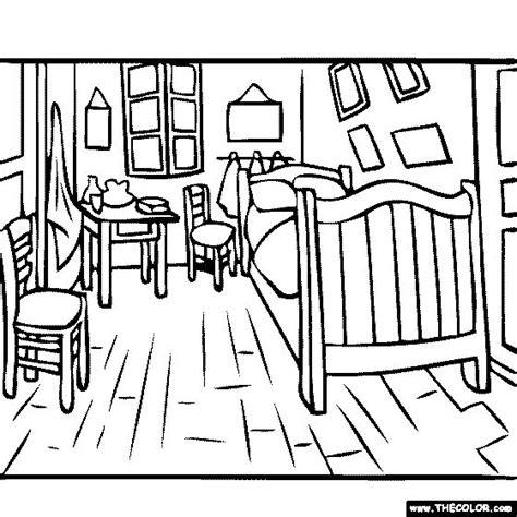 bedroom for coloring best 25 bedroom in arles ideas on gogh