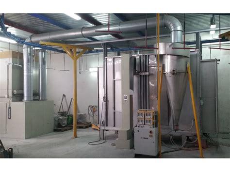 cabine di verniciatura a polvere impianto di verniciatura a polvere lecce puglia