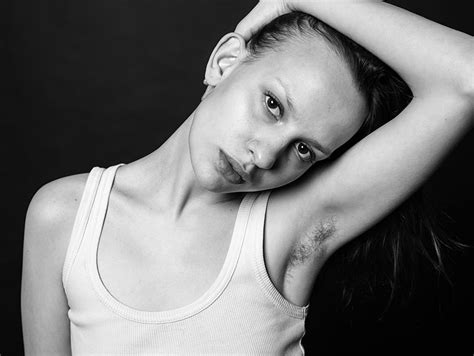 unshaven modern women natural photographer made a photo series of beautiful women with unshaved underarms to support natural
