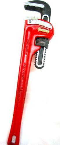 Ridgid 31030 Pipa Wrench 24 ridgid 31030 24 inch heavy duty pipe wrench home improvement