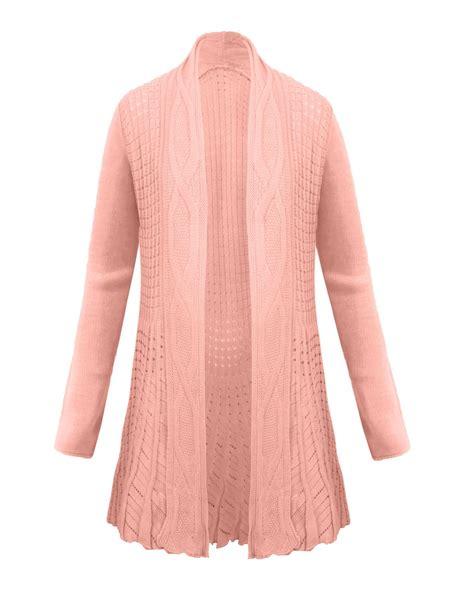 New Kardigan new knitted boyfriend waterfall cardigan top jumper dress plus size ebay