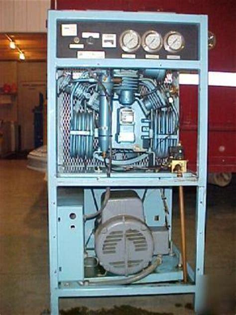 mako air compressor scba scuba cascade system