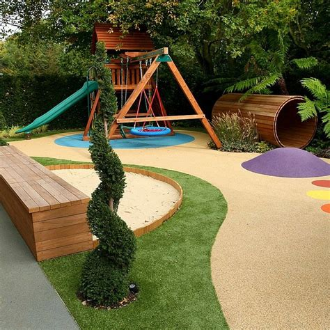 Backyard Play Area Landscaping by 17 Best Ideas About Small Yard On