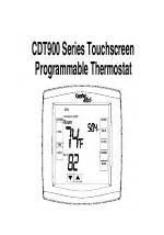 comfort stat manual pdf download comfort stat cdt901 user manual 102 pages