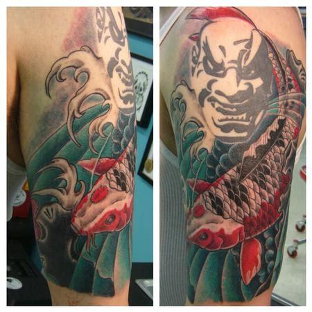 infamous tattoo infamous company tattoos tim macnamara koi