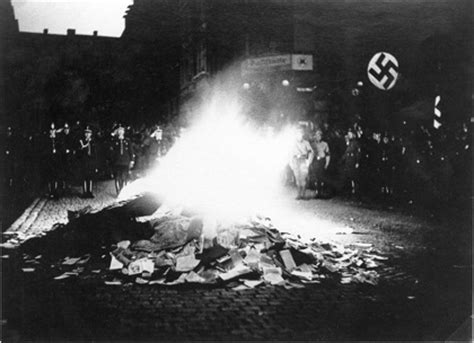 window on a burning books aryanization of germany in 1933 and mass book burning