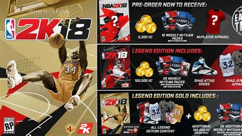 Nba 2k18 Legend Edition Ps4 Murah nba 2k18 pre order bonus and legend edition cover