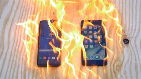 burning samsung galaxy    iphone     stronger youtube