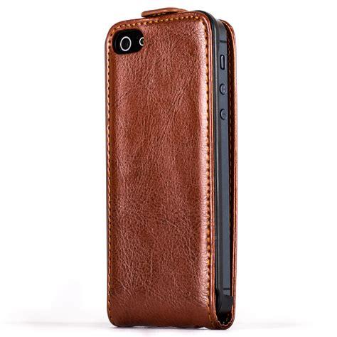 Premium Leather Casing Kulit Kualitas Premium For Iphone 566 snakehive 174 premium leather flip cover for apple iphone 5 5s