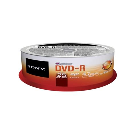 Sony Dvd R Blank 4 7 Gb Dvd Kosong sony 25dmr47sp sony blank dvds